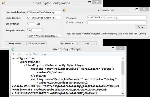 CloudCryptorUI